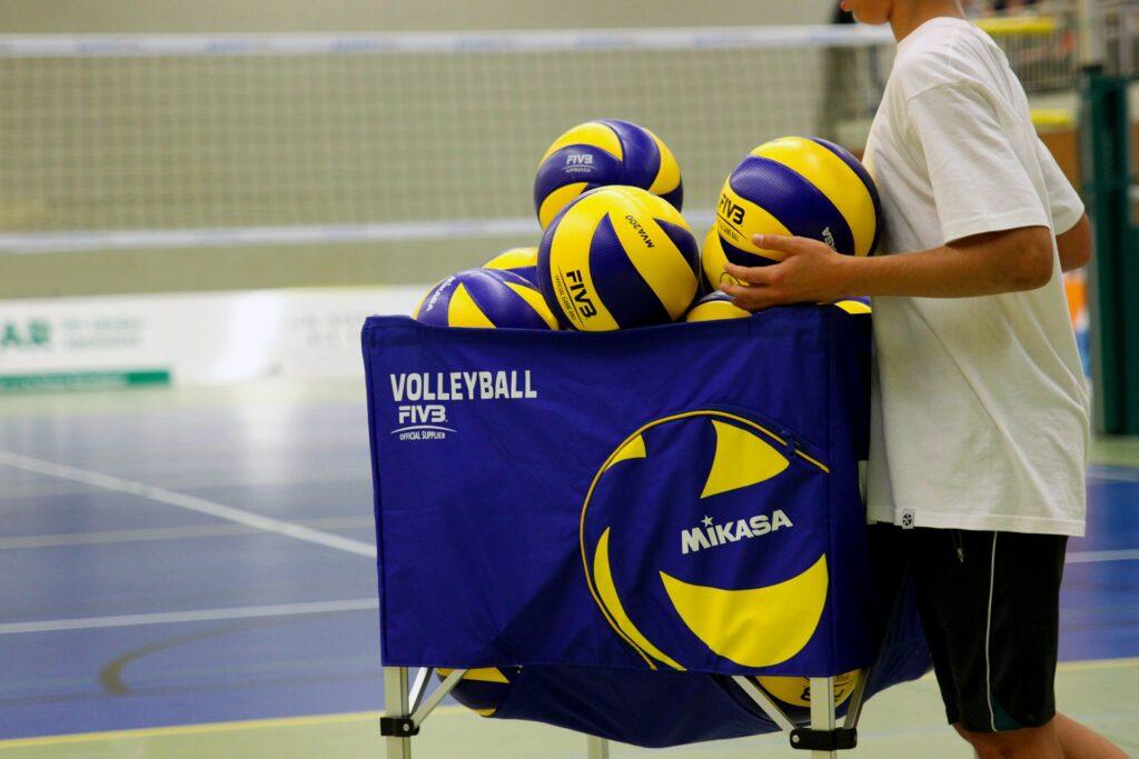 indoor volleyball balls