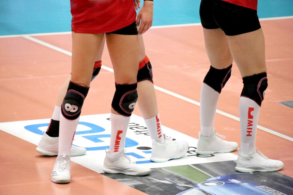 women volleyball knee pads