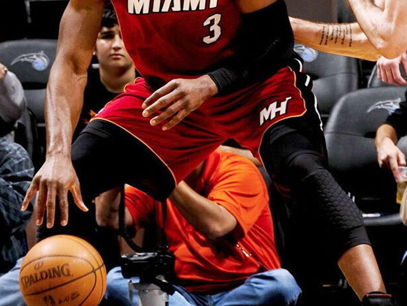 nba player knee sleeve