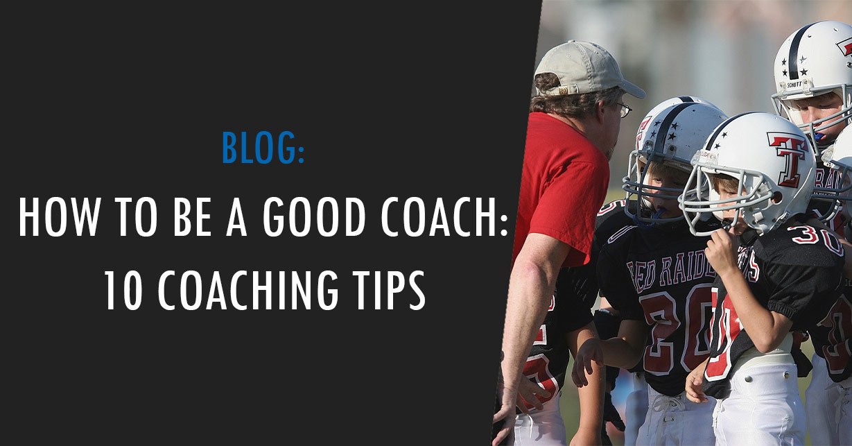how to be a good coach