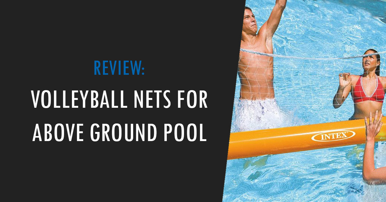 volleyball net for above ground pool